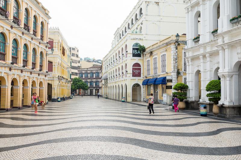 macau best places to visit at Largo do Senado