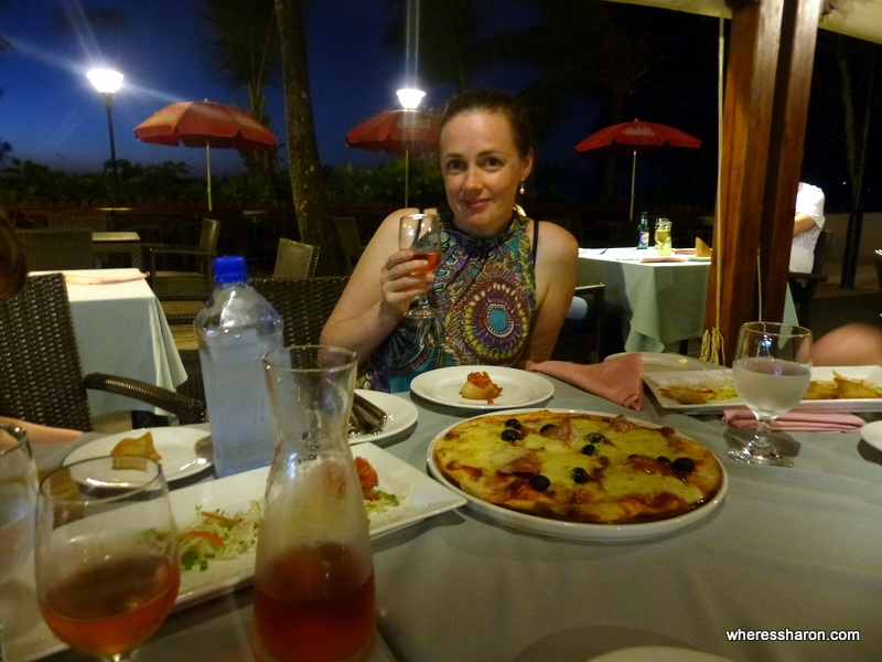 Berjaya Beau Vallon Bay Resort Review pizzeria