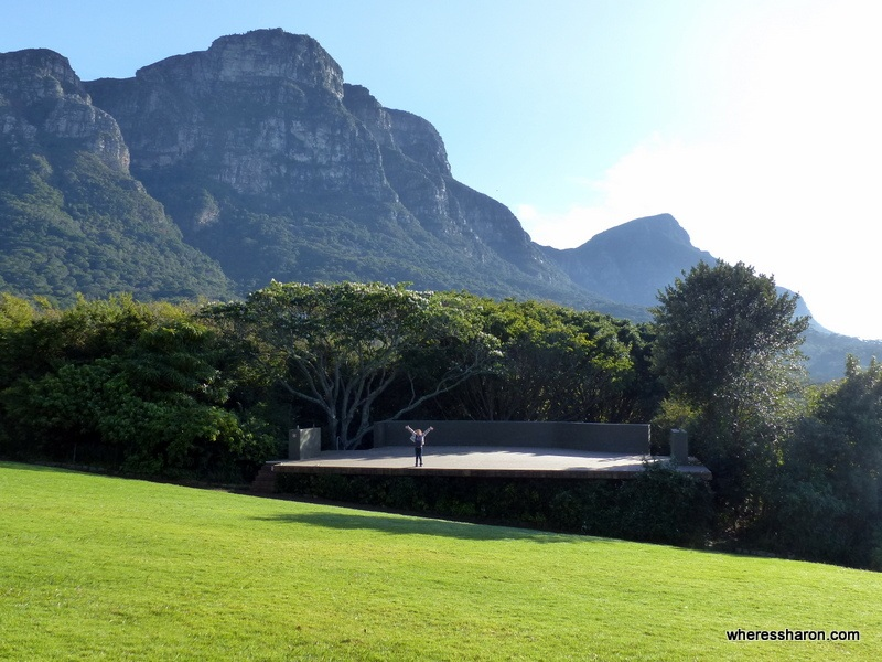 Kirstenbosch Botanical Gardens best things to do in cape town