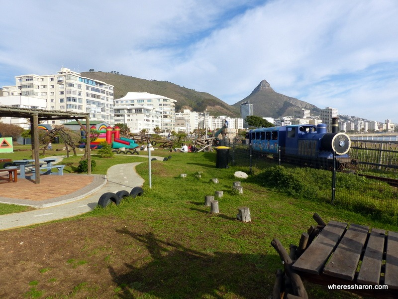 Rotary Blue Train Park, Mouillie Point things to do in cape town under r50