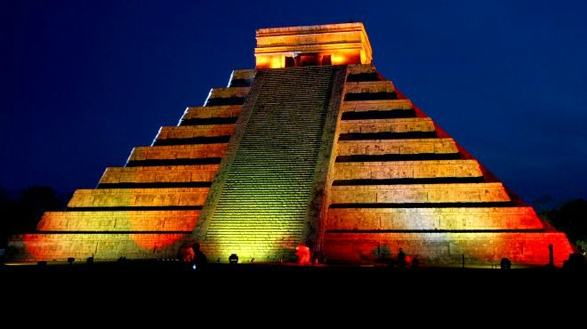 Kukulkan Nights Light and Sound Show at Chichen Itza