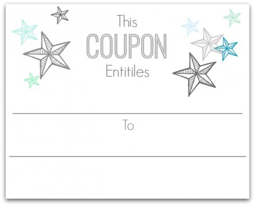 Champlain College Publishing  Christmas Coupons Template