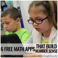 FREE Math Apps that Build Number Sense