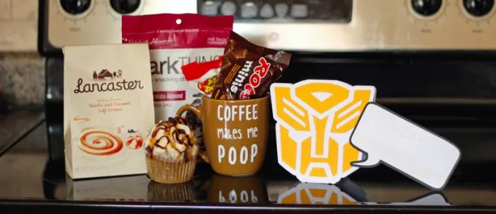 Transformers Father's Day Card & 'Coffee Makes Me Poop' Mug | Where The Smiles Have Been