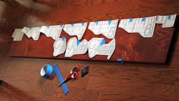 How to Make a Family Growth Chart Ruler with Yearly Photos