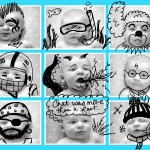 Doodle Fun with The Cub's Faces!