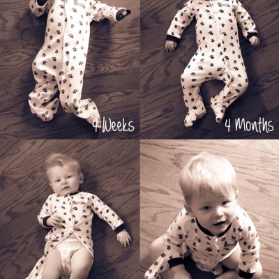 Monthly Baby Photo Ideas for Baby's First Year!