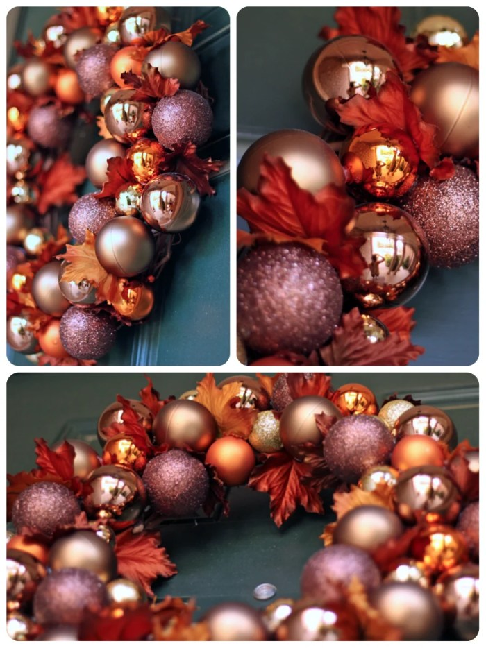 Fall Ornament Wreath