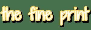 SidebarTheFinePrint
