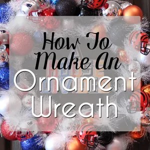 How To Make An Ornament Wreath