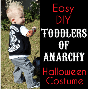 Sons of Anarchy Toddler Costume