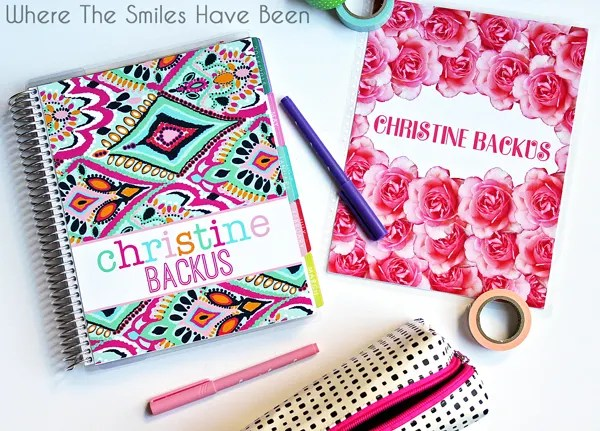How to Make DIY Erin Condren Life Planner Interchangeable Covers! #erincondren