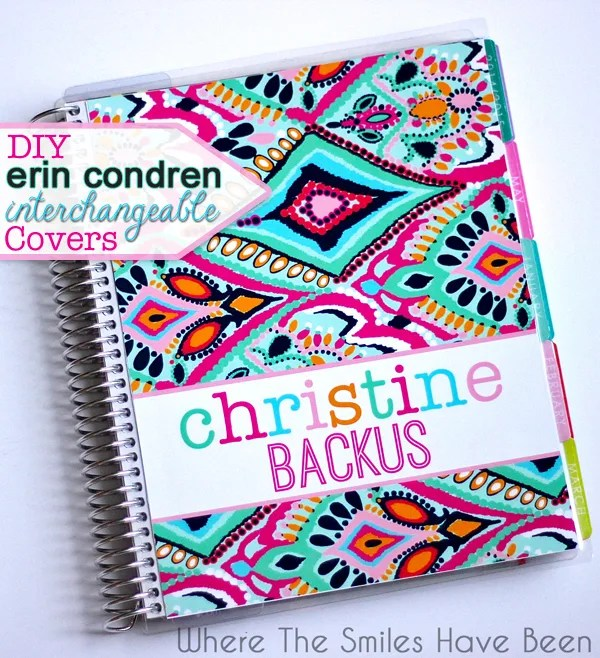 photograph regarding Erin Condron referred to as Do-it-yourself Erin Condren Existence Planner Interchangeable Addresses