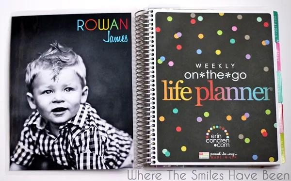 How to Make DIY Erin Condren Life Planner Interchangeable Covers! Save money and make your own! #erincondren