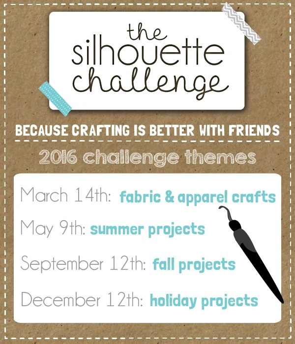 2016 Silhouette Challenge Themes! | Where The Smiles Have Been