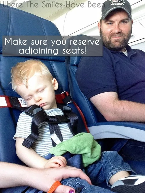 The MOTHERLOAD of Tips for Flying with a Toddler | Where The Smiles Have Been