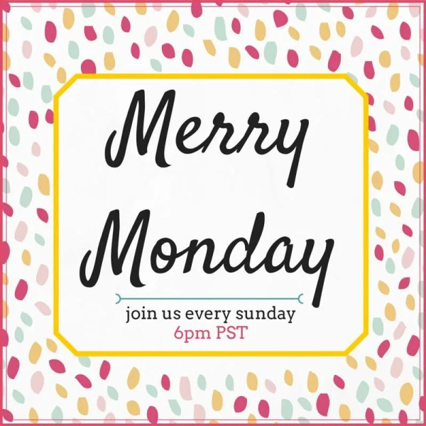 Merry Monday Button