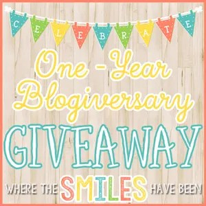 WTSHB's One-Year Blogiversary GIVEAWAY!
