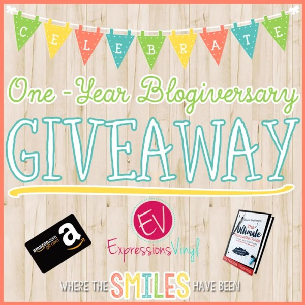 One-Year Blogiversary GIVEAWAY! | Where The Smiles Have Been