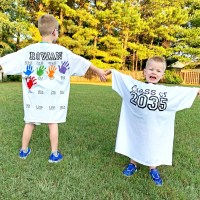 DIY Back-to-School Shirt with Handprints for Every Grade!