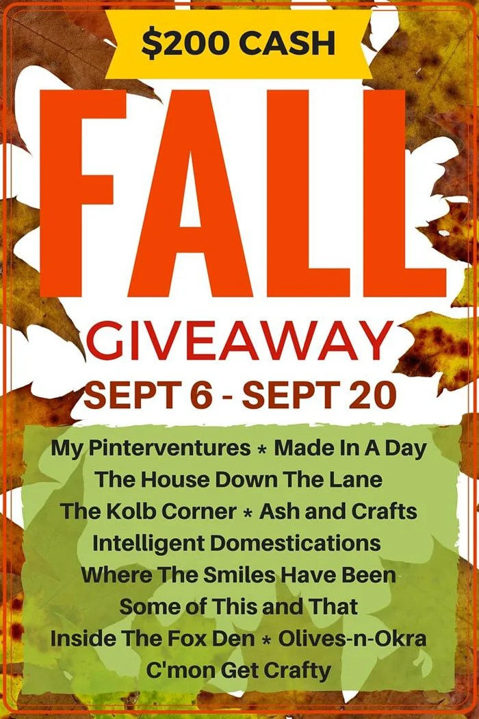 Let's Kickoff Fall with a $200 Giveaway! | Where The Smiles Have Been
