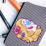 Sugar Skull Makeup Bag: Drop Dead Gorgeous!