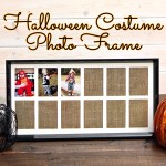 Yearly Halloween Costume Photo Frame