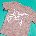 Wrap-Around Shark Shirt + Heat Press Giveaway!