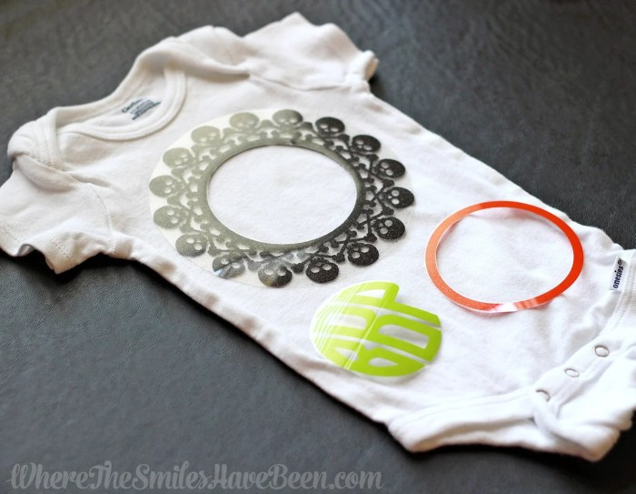 Spooktacular Monogram Onesie for Baby's First Halloween + GIVEAWAY! | Where The Smiles Have Been