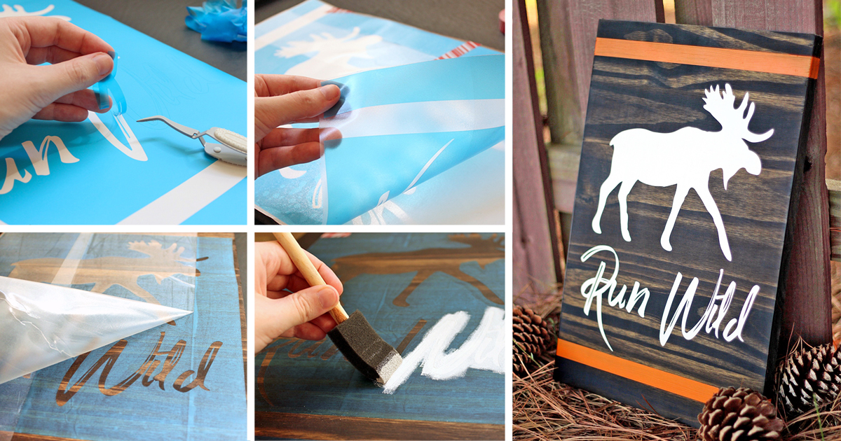 Tips for Using Stencil Film with a Silhouette