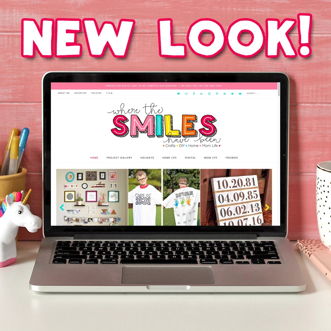WTSHB Has a New Look! Check Out My Blog Redesign! | Where The Smiles Have Been
