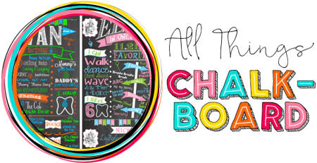 All Things Chalkboard at Where The Smiles Have Been