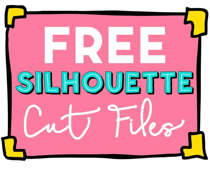 FREE Silhouette Cut Files at Where The Smiles Have Been!