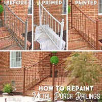 How to Repaint Metal Porch Railings & Add Instant Curb Appeal