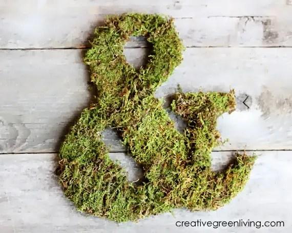Moss-Covered Monogram