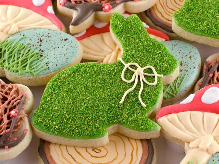 Spring Moss Cookies