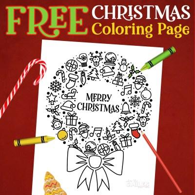 FREE Christmas Coloring Printable