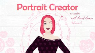 Female Portrait Creator (Vector)