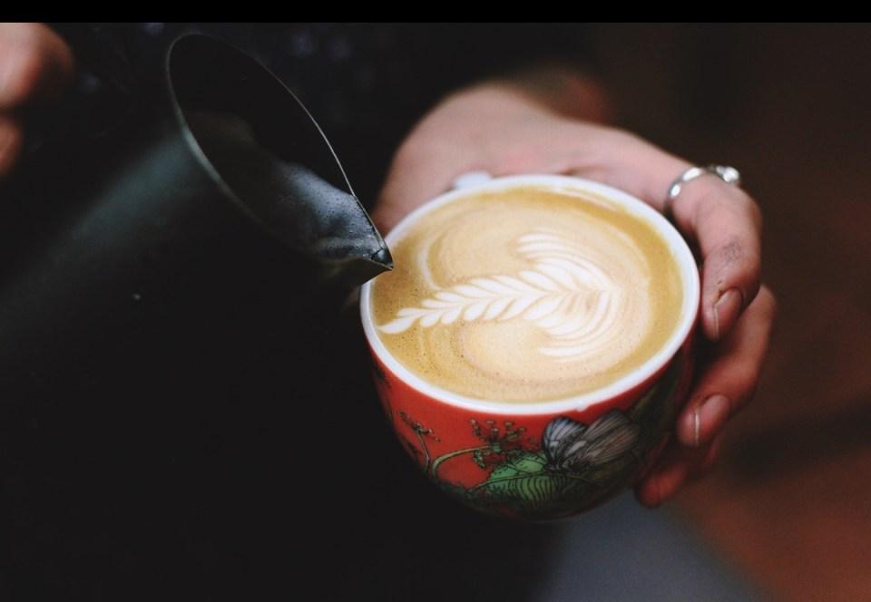 Milan Coffee Festival latte art