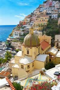 what to see in Positano - church