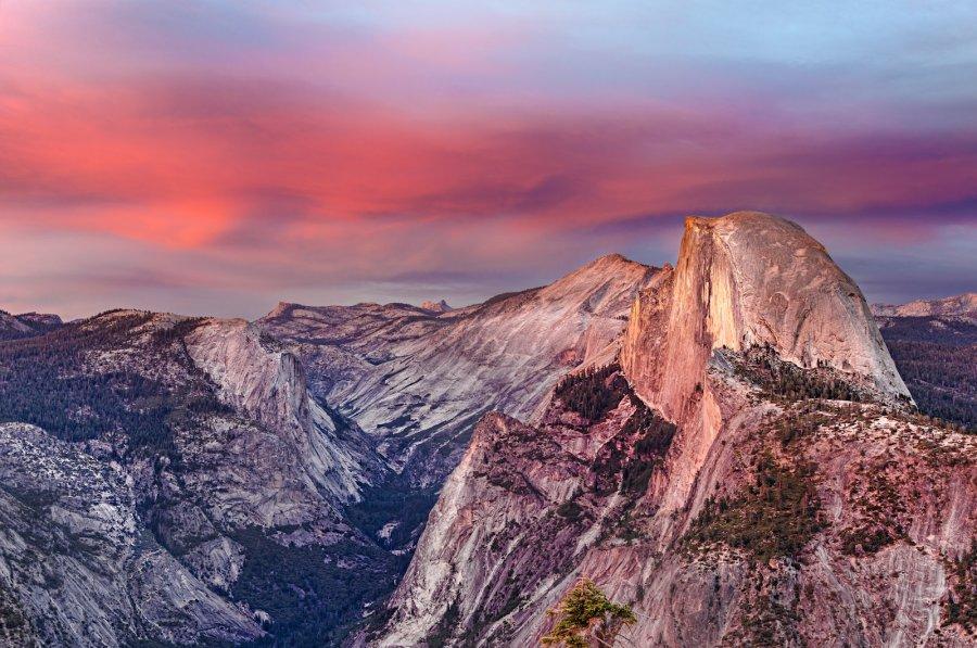 Half Dome Yosemite William Woodward