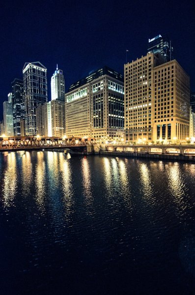 City Lights 2 Chicago William Woodward