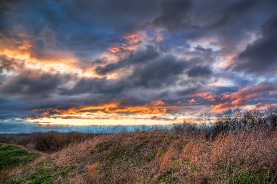 Colors in Clouds Illinois William Woodward