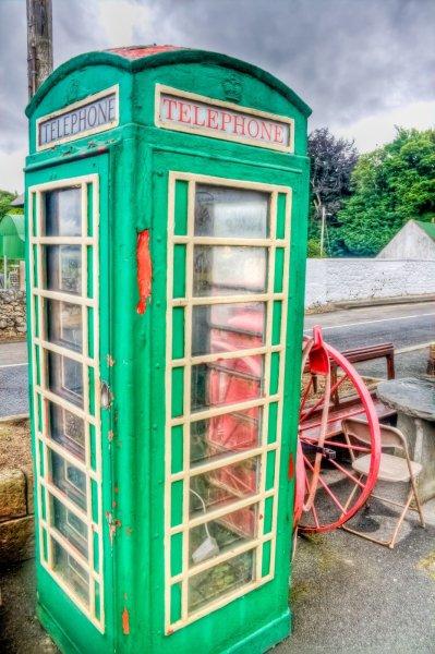 Phone Booth Dublin William Woodward