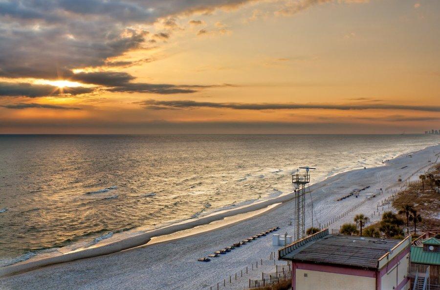 Beach Sunset Florida William Woodward