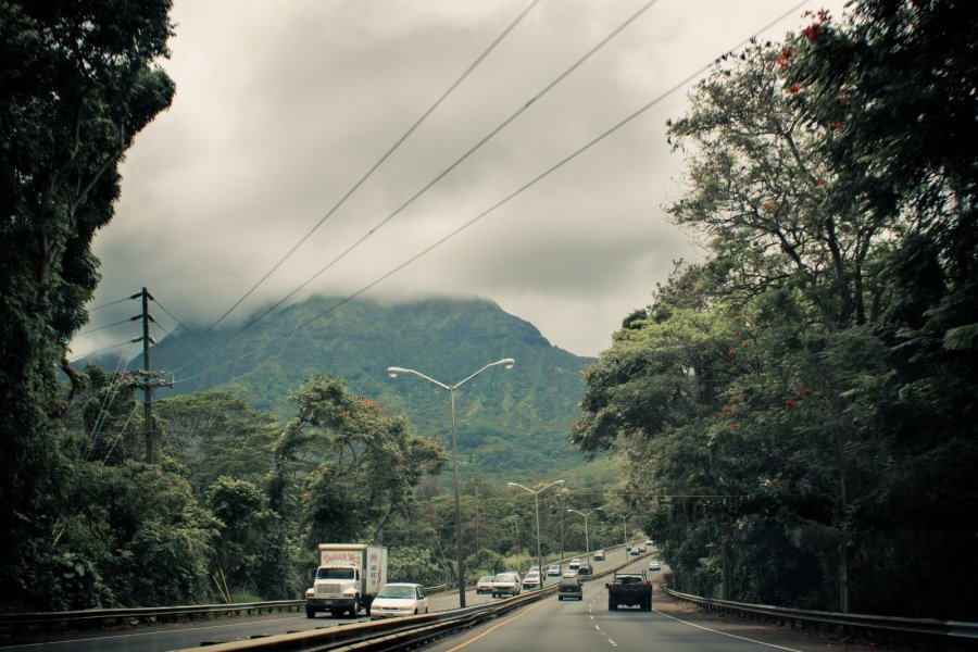 Fog Over Mountain Oahu William Woodward