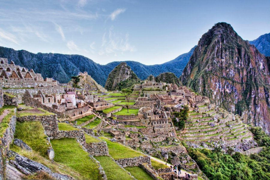 Morning on Mountain Machu Picchu William Woodward