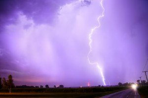 HDR Lightning! Illinois William Woodward