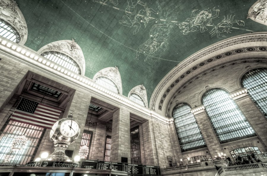 Grand Central New York William Woodward
