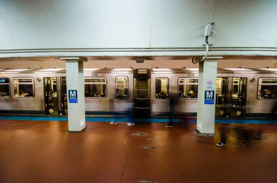 Chicago Subway William Woodward